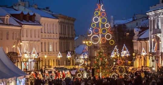 Christmas in Vilnius 2016